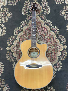 2012 PRS SE ANGELUS STANDARD ACOUSTIC GUITAR BUILT IN PRE-AMP AND TUNER