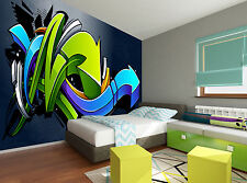 Graffiti Background Wall Mural Photo Wallpaper GIANT DECOR Paper Poster