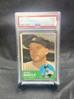 "1963 Topps Mickey Mantle #200 New York Yankees PSA 5 ""EX"" HOF NICE! Tough"