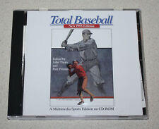 Total Baseball (1993, CD-ROM, MS-DOS) A Multimedia Sports Edition on CD-ROM