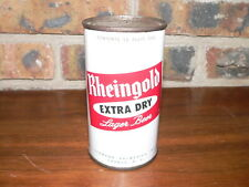 Vintage Rheingold Extra Dry Lager Flat Top Beer Can~Excellent Condition