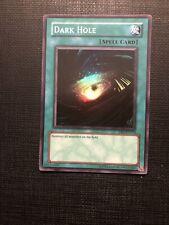 Dark Hole - DB1-EN113 - Super Rare NM Dark Beginning 1