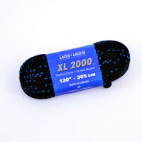 SKATE LACES XL2000B, Ice Hockey Roller Skate Lace Black different lengths