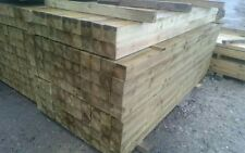 4x4 inch Tanalised Pressure Treated 10cm x 10cm Timber Fence Post 1.8 m / 6ft