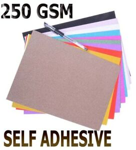 Premier Art + Craft A4 250gsm 13 Coloured Sparkle Glitter Card Range UK