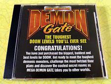 Demon Gate Mega Collection ~ PC CD Rom Game ~ Doom 1 & 2 Ultimate Levels