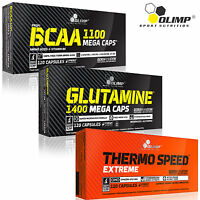 BCAA + Glutamine + Thermo Speed Extreme 90/180 Caps. Best Amino Acids Fat Burner