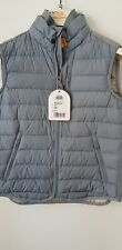 Parajumpers Perfect Boys Gilet, Grey Size Youth S- NEW FROM LIQUIDATED STOCK