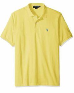Men's Classic Polo Shirt Yellow