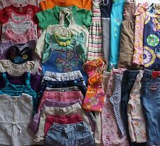 Girls Size 5 Summer Clothes Lot of 38 Items L2-17