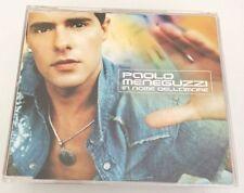 PAOLO MENEGUZZI IN NOME DELL AMORE CD SINGOLO 2002 OTTIMO SPED GRATIS + ACQUISTI