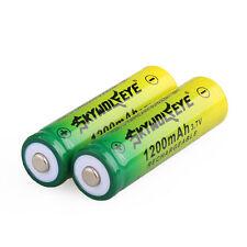 2pcs SKYWOLFEYE 14500 Rechargeable Li-ion Battery 3.7V 1200MAH Lithium Batteries