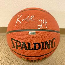 """Kobe Bryant """"24"""" Basketball with Autograph - Signed by Kobe Bryant Lakers w/ COA"""