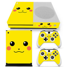 Pokemon Pikachu Vinyl Decal Skin Stickers for Xbox One S Console & 2 Controllers