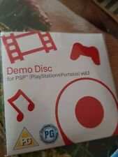 Psp DEMO Disk   multiple games and 2 spidermab movie trailers