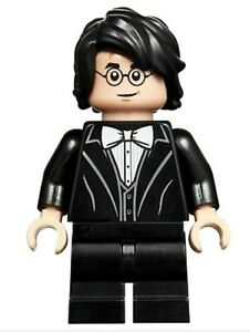 LEGO® Harry Potter Black Suit White Bow Tie Minifigure From Set 75948
