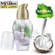 Coconut oil hair serum anti breakage dry damaged frizzy spit ends hair treatment