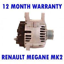 RENAULT Megane MK2 MK II 1.9 2.0 2002 2003 2004 2005 2006 - 2015 Alternatore