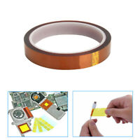 15mm 33M Tape High Temperature Heat-Resistant Polyimide BGA SMT Soldering Tawny