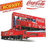 """Hornby R1233 The Coca-Cola Christmas Full Train Set,  00 """"DAMAGED OUTSIDE BOX"""""""