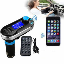 Silver 3-in-1 Bluetooth FM Transmitter MP3 Player SD Car Kit for iPhone 6 5S 5C