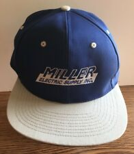 Miller Electric Suppy Inc. Baseball Hat Cap Adjustable Size Snapback Blue & Gray