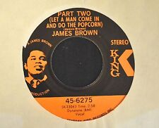 James brown King 6275 Gittin' A Little Hipper  and Let A Man Come In And Do The