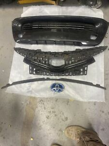 4 Items 15/18Toyota Prius V Front Center Bumper Grille 53112-47180 Genuine OEM