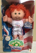 Cabbage Patch Kids OLYMPIKIDS Special Edition Basketball Doll Red Hair Green Eye