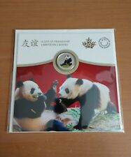 Pure Silver Coin - The Peaceful Panda, a Gift of Friendship (2018)  Canada