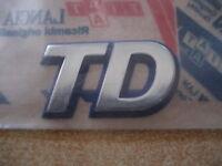 LOGO D'AILE TD FIAT PUNTO TD - 7795235