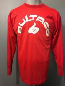 Vtg 70s 80s Bultaco Mesh Jersey Motocross Champion Blue Bar Mens 40 Racing Shirt