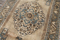 Turkish Rug 60''x113'' Vintage Muted Color Hand Knotted Oriental Rug 154x290cm