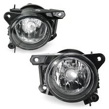 2X Fog Light Clear Glass Chrome Bulbs H7 Set for VW POLO 6N2