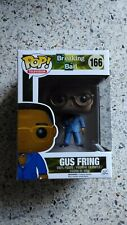 Funko Pop Gus Fring 166 Breaking Bad TV Series Free pop protector Vaulted Rare