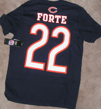 NEW NFL Matt Forte Jersey Style T Shirt Youth Boys M 10 12 NWT