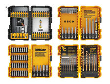 DEWALT 100 Piece Magnetic Screwdriver and Drilling Bit Set with Hard Cases