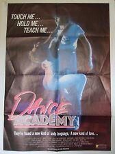 DANCE ACADEMY Original 80s movie! (1988) Original US one sheet movie poster