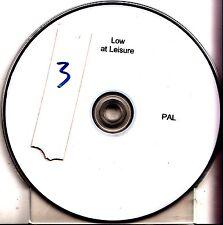 ALAN SPARHAWK Low At Leisure 2014 UK promo test documentary DVD