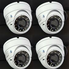 4x HD-CVI SONY CMOS 1080p 2.4MP 2.8-12mm VF Varifocal Dome Camera HDCVI OSD DWDR