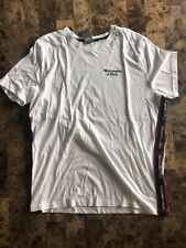 Abercrombie & Fitch Mens Short Sleeved T Shirt White Size 2XL NEW