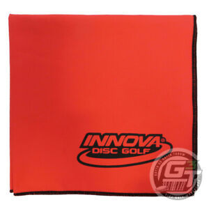 """Innova DEWFLY 17"""" x 16.5"""" Microsuede Disc Golf Towel - PICK YOUR COLOR"""