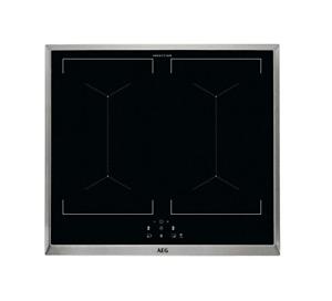 AEG IEE64050XB Elektro-Kochfeld / 60 cm / Glasfarbe Schwarz / Induktionskochfeld