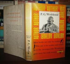 Wodehouse, P. G.  AUTHOR! AUTHOR!   1st Edition 1st Printing