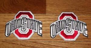 "2x NEW Ohio State University OSU Buckeyes Logo Patch 2.7"" Polo Shirt Size *Q1"