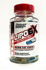 Nutrex Lipo 6X 60 cápsulas Thermo Quemador De Grasa interrumpir la fórmula 1, 2, 3, Pack