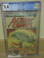 Action Comics #1 CGC 9.4 WHITE Pages Safeguard Promotional-Reprints 1st Superman