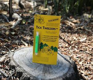 Dr Schicks Original Tick Tweezers  - Tick Removal Tool People Dog Pets & Camping