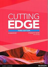 Pearson CUTTING EDGE Elementary THIRD EDITION 2013 Student's Book w DVD-ROM New