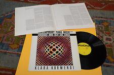 STOCKHAUSEN DURKO CAGE XENAKIS LP EX AVANT GARDE CONTEMPORARY ELECTRONIK !!